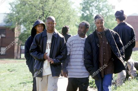 Stock Picture of J.D. Williams, Larry Gilliard Jr, Brandon Price, Michael B. Jordan