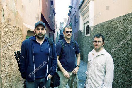 Stock Photo of Chris Cassidy, John Mathieson, Justin Szlasa, Christopher Kenneally