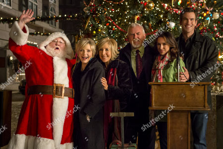 Stock Photo of Donovan Scott, Florence Henderson, Lin Shaye, John Ratzenberger, Lacey Chabert, Adam Mayfield
