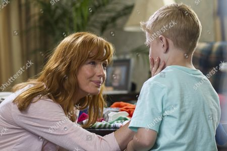 Stock Image of Kelly Reilly, Connor Corum