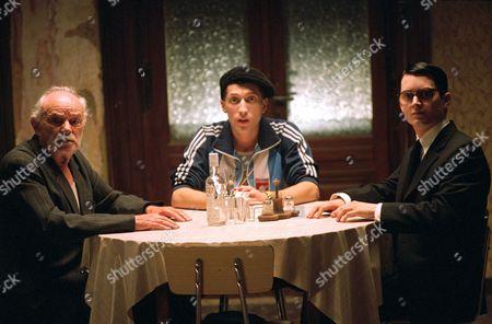 Boris Leskin, Eugene Hutz, Elijah Wood