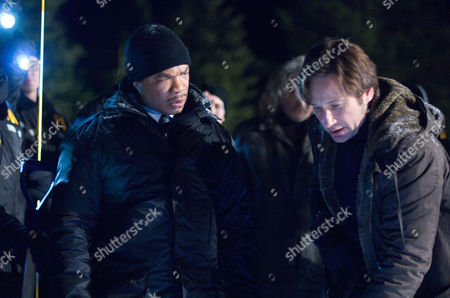 Stock Image of Alvin 'Xzibit' Joiner, David Duchovny