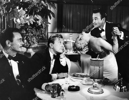 Barry Sullivan, Kirk Douglas, Gilbert Roland