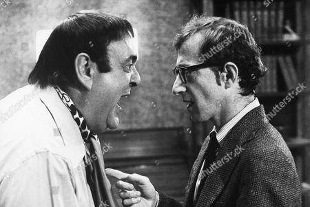 Zero Mostel, Woody Allen