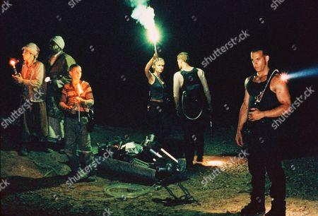 Rhiana Griffith, Radha Mitchell, Cole Hauser, Vin Diesel