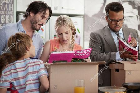 Keanu Reeves, Ignacia Allamand, Aaron Burns