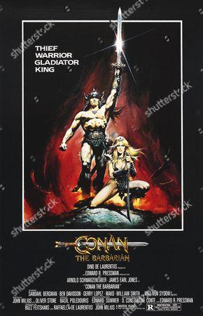 Editorial photo of Conan The Barbarian - 1982