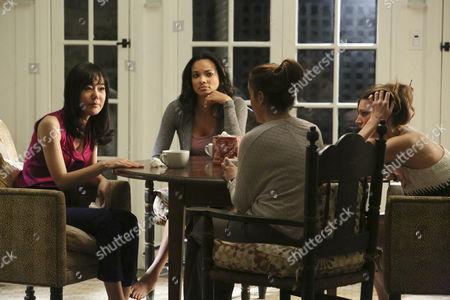 Yunjin Kim, Rochelle Aytes, Alyssa Milano, Jess Macallan
