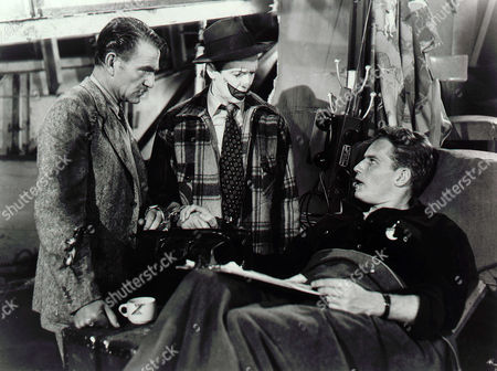 Henry Wilcoxon, James Stewart, Charlton Heston