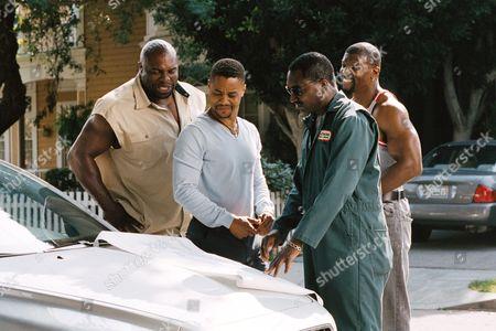 Lester Speight, Cuba Gooding Jr, Clifton Powell, Terry Crews