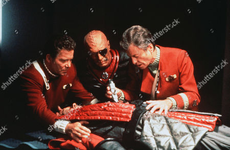 William Shatner, Christopher Plummer, Deforest Kelley, David Warner