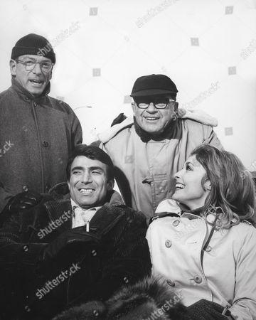 David Weisbart, Tony Scotti, Mark Robson, Sharon Tate