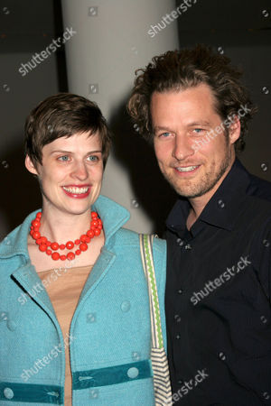 Stock Image of Kate Mayfield and James Tupper