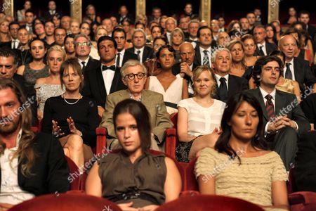 Judy Davis, Woody Allen, Alison Pill