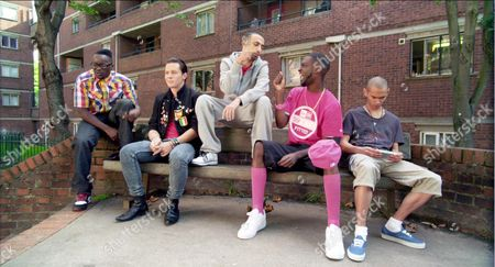 Stock Photo of Femi Oyeniran, Ollie Barbieri, Adam Deacon, Jazzie Zonzolo, Michael Vu