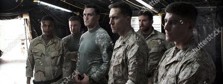 Stock Image of Cory Hardrict, Joel Lambert, Owain Yeoman, Tony Nevada, Bradley Cooper, Brett Edwards