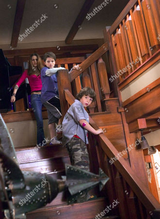 Kristen Stewart, Josh Hutcherson, Jonah Bobo