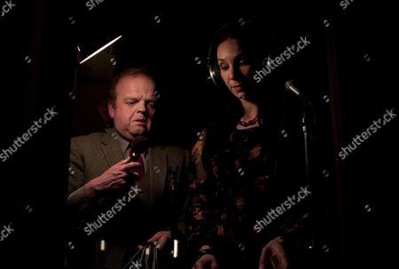 Toby Jones, Tonia Sotiropoulou