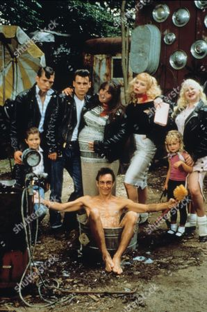 Stock Image of Darren E Burrows, Johnny Depp, Ricki Lake, Iggy Pop, Traci Lords, Kim McGuire