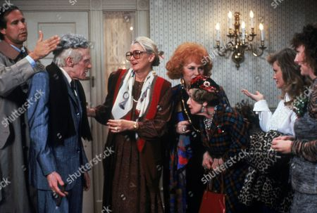 Stock Picture of Chevy Chase, William Hickey, Diane Ladd, Doris Roberts, Mae Questel, Beverly D'Angelo, Miriam Flynn
