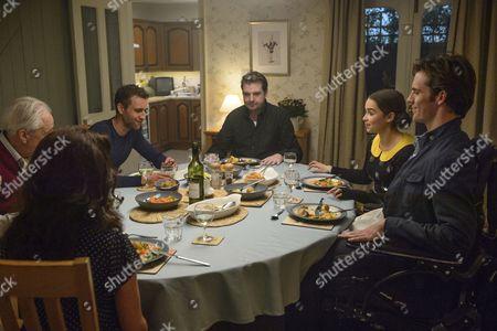 Matthew Lewis, Brendan Coyle, Emilia Clarke, Sam Claflin