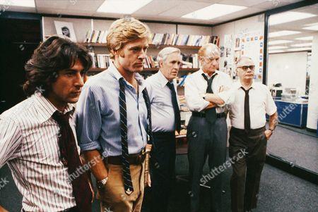 Dustin Hoffman, Robert Redford, Jason Robards, Jack Warden, Martin Balsam