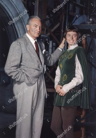 Stock Picture of Victor Fleming, Ingrid Bergman
