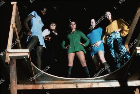 Marcia McBroom, Dolly Read, Cynthia Myers, Angel Ray, Erica Gavin