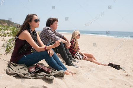 Stock Picture of Katie Chang, Israel Broussard, Claire Julien