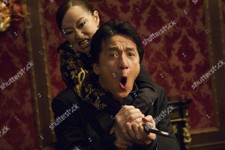 Youki Kudoh, Jackie Chan