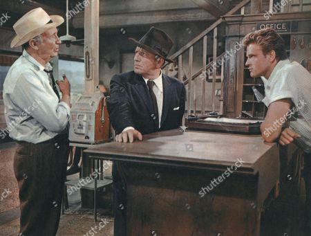Walter Brennan, Spencer Tracy, John Ericson