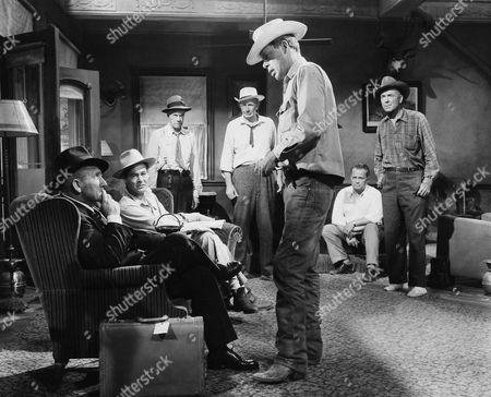 Spencer Tracy, Robert Ryan, Lee Marvin, Dean Jagger