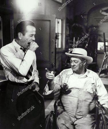 Humphrey Bogart, Lionel Barrymore