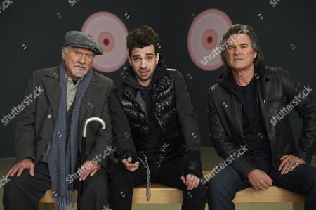 Kenneth Welsh, Jay Baruchel, Kurt Russell