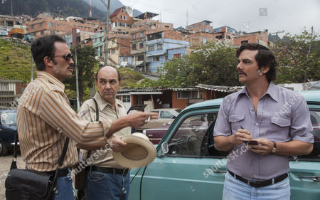 Stock Picture of Juan Pablo Rabba, Luis Gnecco, Wagner Moura