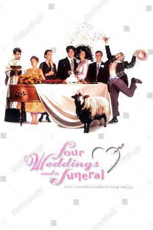 Rowan Atkinson, Charlotte Coleman, Kristin Scott Thomas, Hugh Grant, Andie Macdowell, John Hannah, Simon Callow