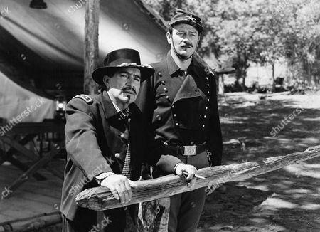 J. Carrol Naish, John Wayne