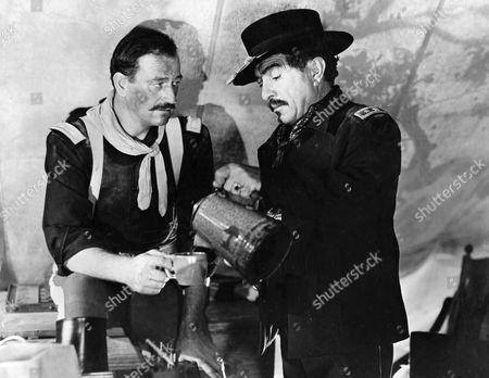 John Wayne, J. Carrol Naish