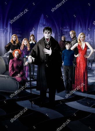 Helena Bonham Carter, Michelle Pfeiffer, Chloe Grace Moretz, Bella Heathcote, Johnny Depp, Jackie Earle Haley, Gulliver McGrath, Jonny Lee Miller, Eva Green