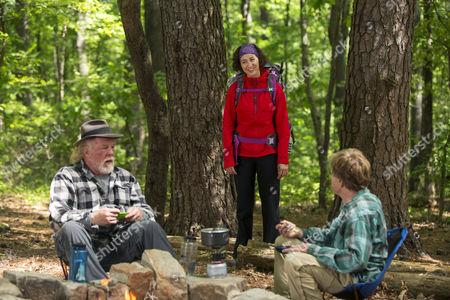 Stock Picture of Nick Nolte, Kristen Schaal, Robert Redford