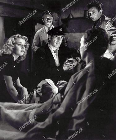 Dolores Moran, Humphrey Bogart, Marcel Dalio