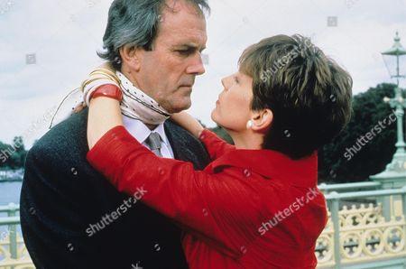 Stock Image of Jamie Lee Curtis, John Cleese