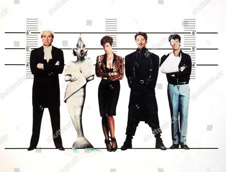 John Cleese, Jamie Lee Curtis, Kevin Kline, Michael Palin
