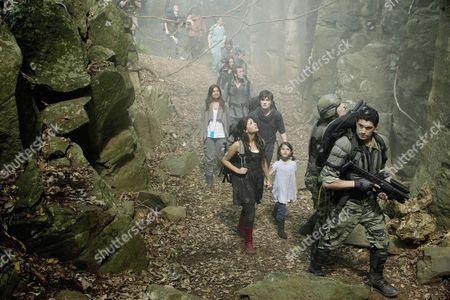 Stock Picture of Shelley Conn, Jason O'Mara, Landon Liboiron, Naomi Scott, Alana Mansour, Mido Hamada