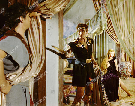 Stock Picture of Victor Mature, Henry Wilcoxon, Angela Lansbury