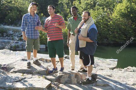 David Spade, Adam Sandler, Chris Rock, Kevin James