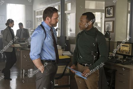 Stock Picture of Ty Olsson, Malcolm Goodwin