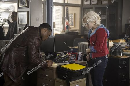 Stock Image of Malcolm Goodwin, Rose McIver