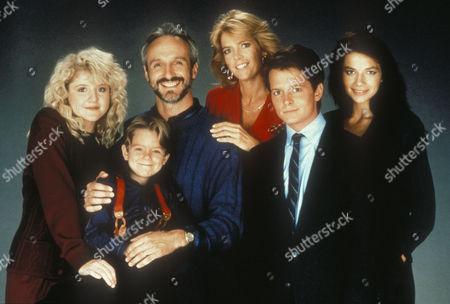 Tina Yothers, Michael Gross, Meredith Baxter Birney, Michael J. Fox, Justine Bateman, Brian Bonsall