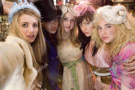 Emma Roberts, Linzey Cocker, Kimberley Nixon, Sophie Wu, Juno Temple